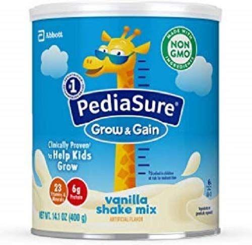 Sữa Pediasure Grow & Gain Shake Mix Hương Vanilla Dành Cho Trẻ Biếng Ăn